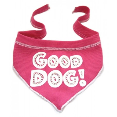 Good Dog Scarf - Flamingo - perfect for your precious pooch & Made in the USA!