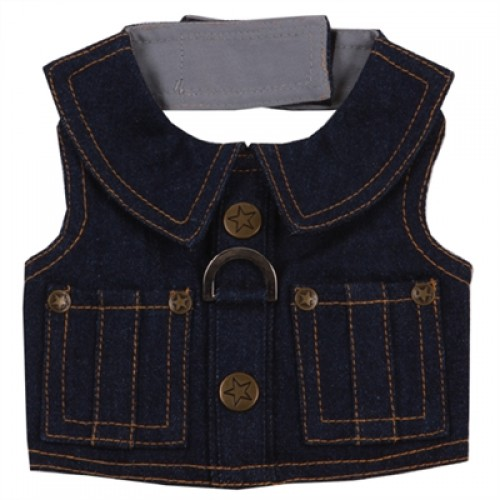 JW Denim Dog Harness