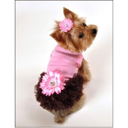 Alexis Ruffled Dog Dress