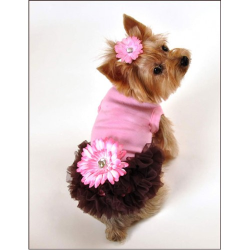 Alexis Ruffled Dog Dress