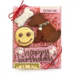 All Natural Birthday Girl Pet Treats - 2 packages!