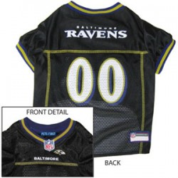 Baltimore Ravens NFL Jersey for Dogs