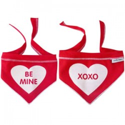 Be Mine/XOXO Dog Scarf