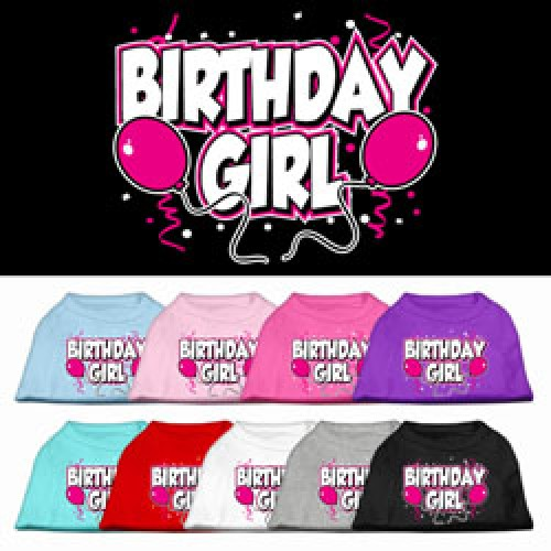 Birthday Girl Shirt For Dogs