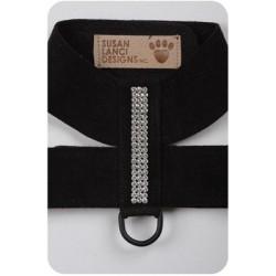 Black Giltmore Crystal Harness by Susan Lanci Designs