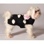 Black Polka Dot Sweater