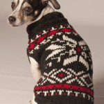 Black Snowflake Sweater