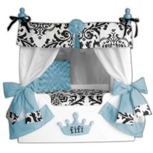 Blue Bella Canopy Pet Bed