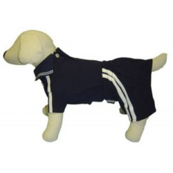 Navy Polo Shirt and Shorts Set for Dogs