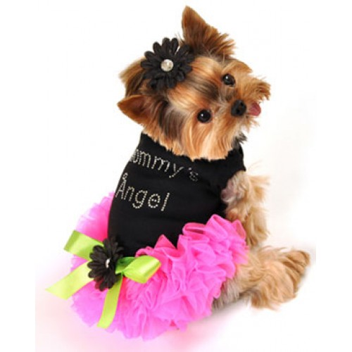 Caressa Ruffled Dog Dress