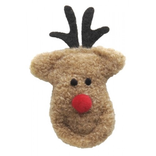 Cheery Reindeer Holiday Cat Toy