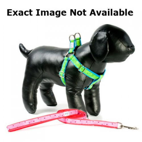 Cherry Soda Adjustable Step-in Dog Harness