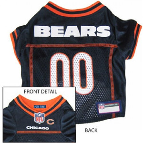 Chicago Bears NFL Jersey for Dogs