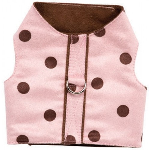 Chocolate Kiss Dog Harness Vest by Ruff Ruff Couture®