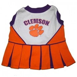 Clemson Tigers Cheer Dress for Dogs