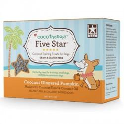 Five Star Organic Coconut Gingered Pumpkin Training Treats