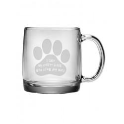 Coffee Mug - I Take My Coffee Black with a Few Dog Hairs - Set of 4