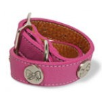 Leather Collars with Charms