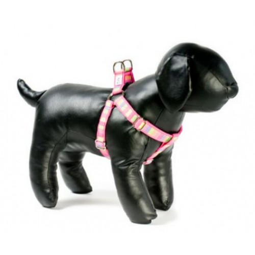 Cotton Candy Adjustable Step-in Dog Harness