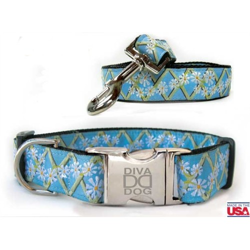 Daisy Collar and Lead Collection - All Metal Buckles