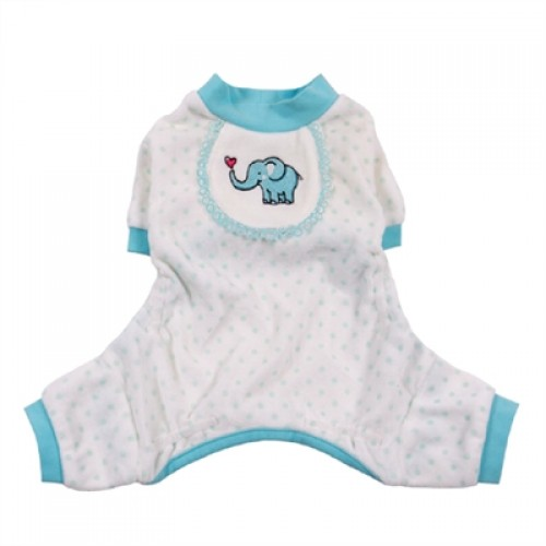 Elephant Print Pajamas for Dogs - available in 2 colors!