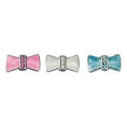 Enamel Bow Charm - 10mm only