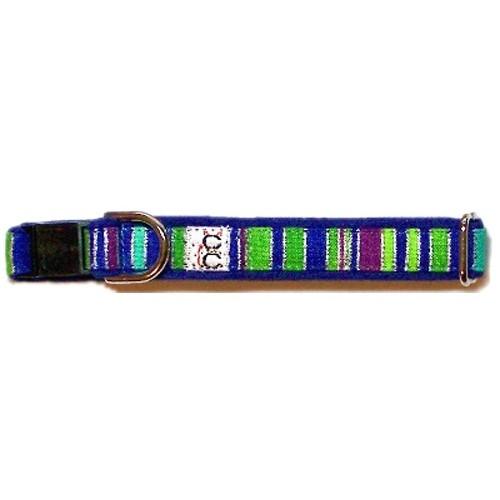 Fiesta on Violet Adjustable Cat Collar