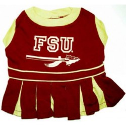 Florida State Seminoles Cheer Dress for Dogs