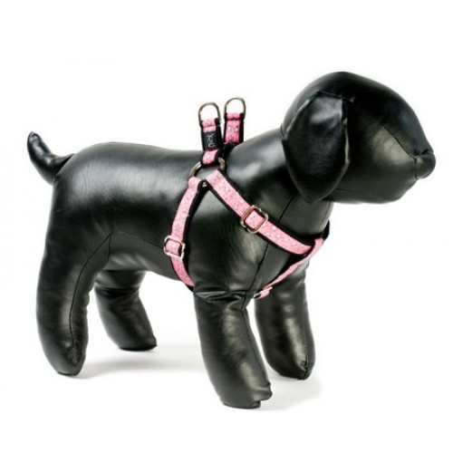 Fox Trot Adjustable Step-in Dog Harness