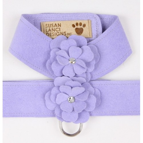 French Lavender Tinkies Garden Series Harness by Susan Lanci Designs