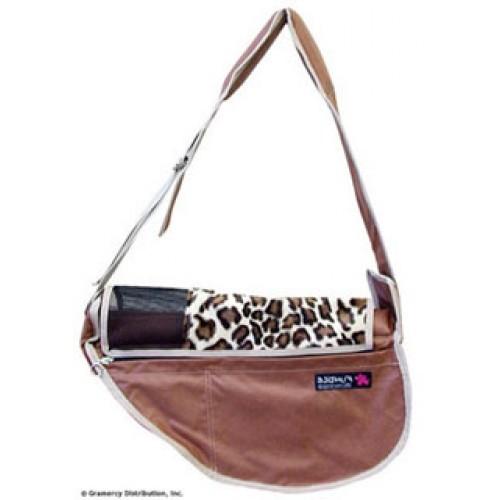 Fundle® Lux Leopard Dog Sling