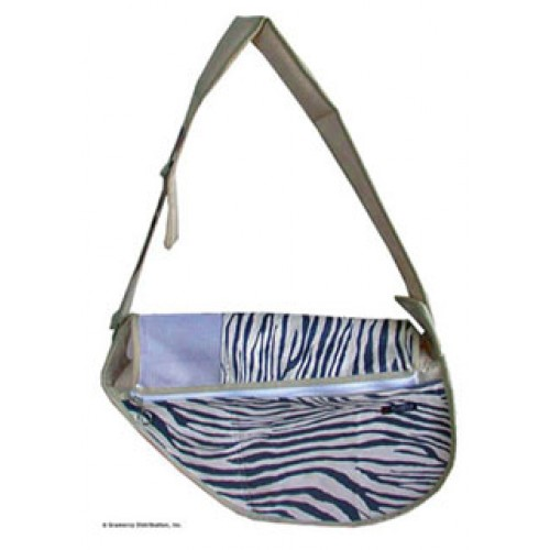 Fundle® Lux Zebra Dog Sling