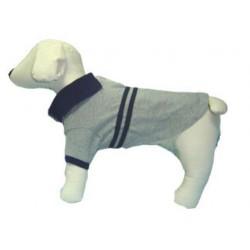 Gray Polo Dog Shirt