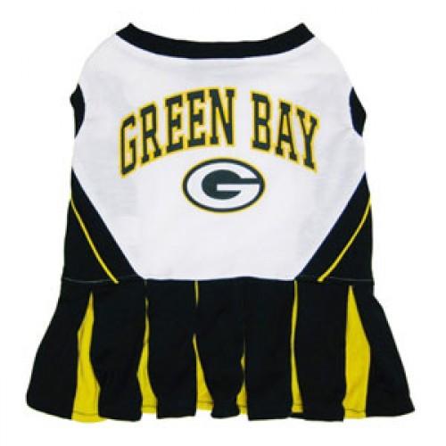 Green Bay Packers Cheerleader Dog Dress
