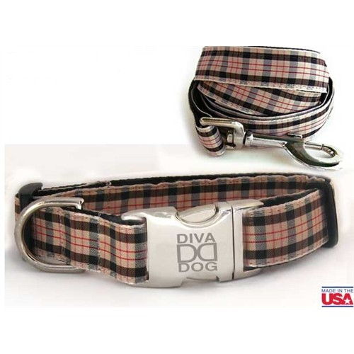 Grr!Bury Collar and Lead Collection - All Metal Buckles