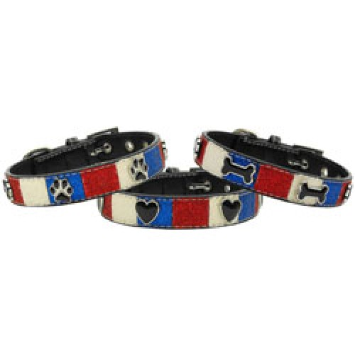 Ice Cream Doggy Collars - Patriotic Mix