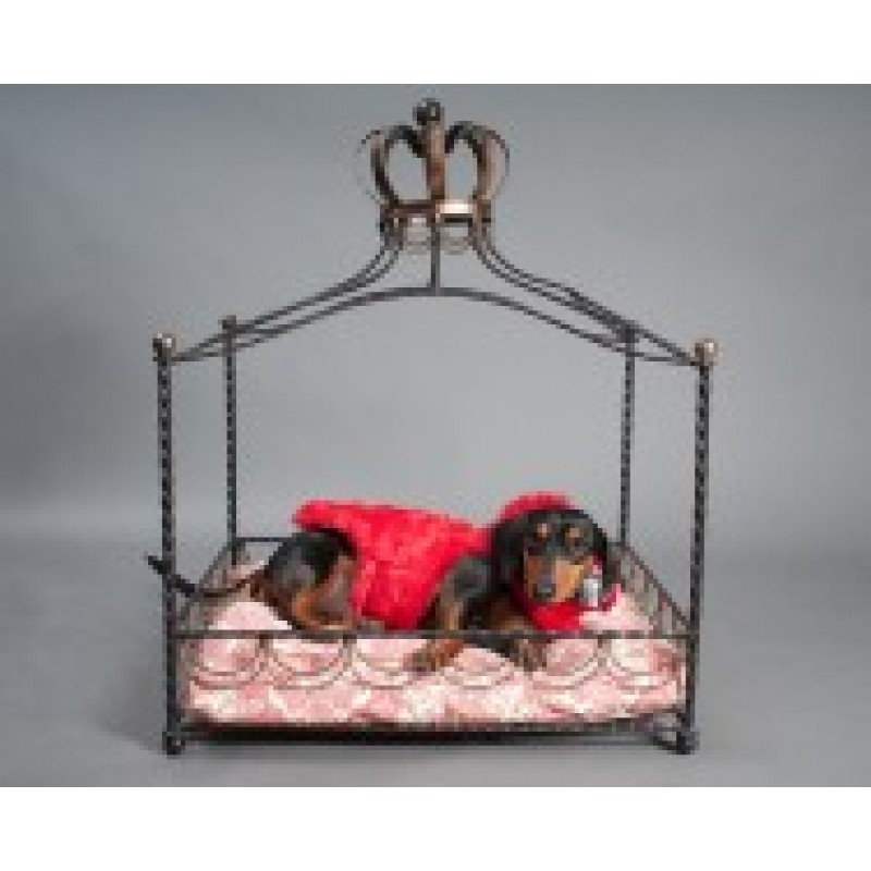 Iron Four Poster Princess Bed for Dogs  sc 1 st  Doggy in Wonderland & Four Poster Princess Bed for Dogs