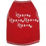 Kisses, Kisses, Kisses Dog Tank
