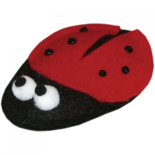 Lady Bug Catnip Toy