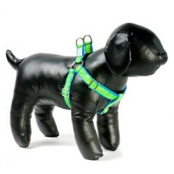 Lime Soda Adjustable Step-in Dog Harness