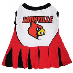 Louisville Cardinals Cheer Dress for Dogs