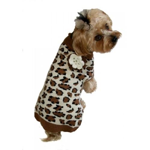 Lovin Leopard Dog Sweater