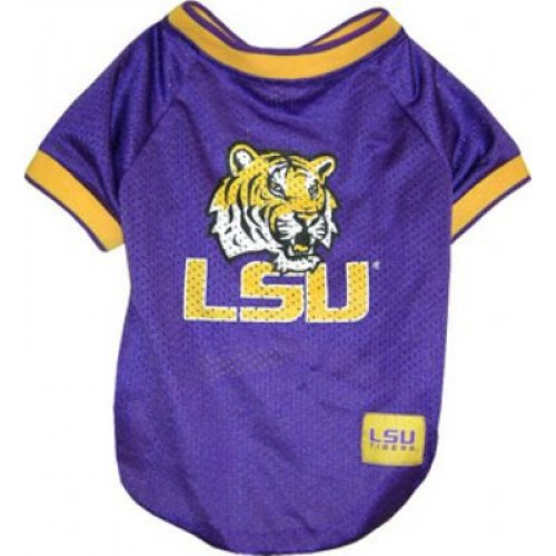 LSU Tigers Dog Jersey