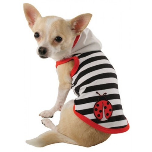 Lucky Ladybug Dog Hoodie by Ruff Ruff Couture®