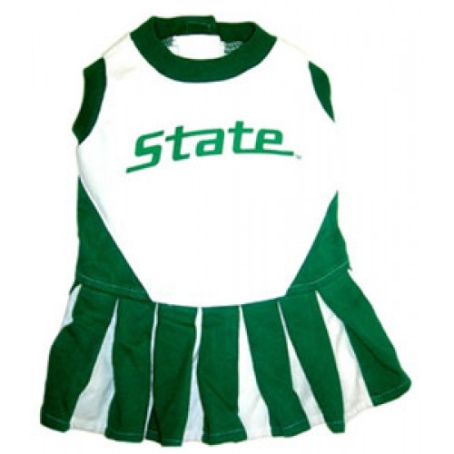 Michigan State Spartans Cheer Dress for Dogs