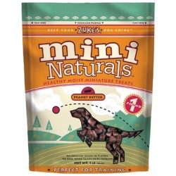 Mini Naturals Treats - 2-1 lb. Packs - Peanut Butter