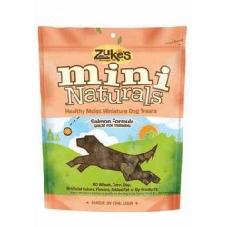 Mini Naturals Treats - 2-6 oz. Packs - Salmon