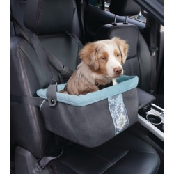 Muted Floral Booster Seat for Dogs