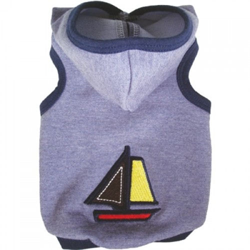 Nantucket Hoodie Tank for Dogs by Ruff Ruff Couture®