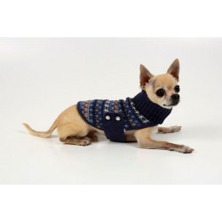 Lightweight Wrap Sweater W/Collar Hole for Dogs - comes in 4 colors!